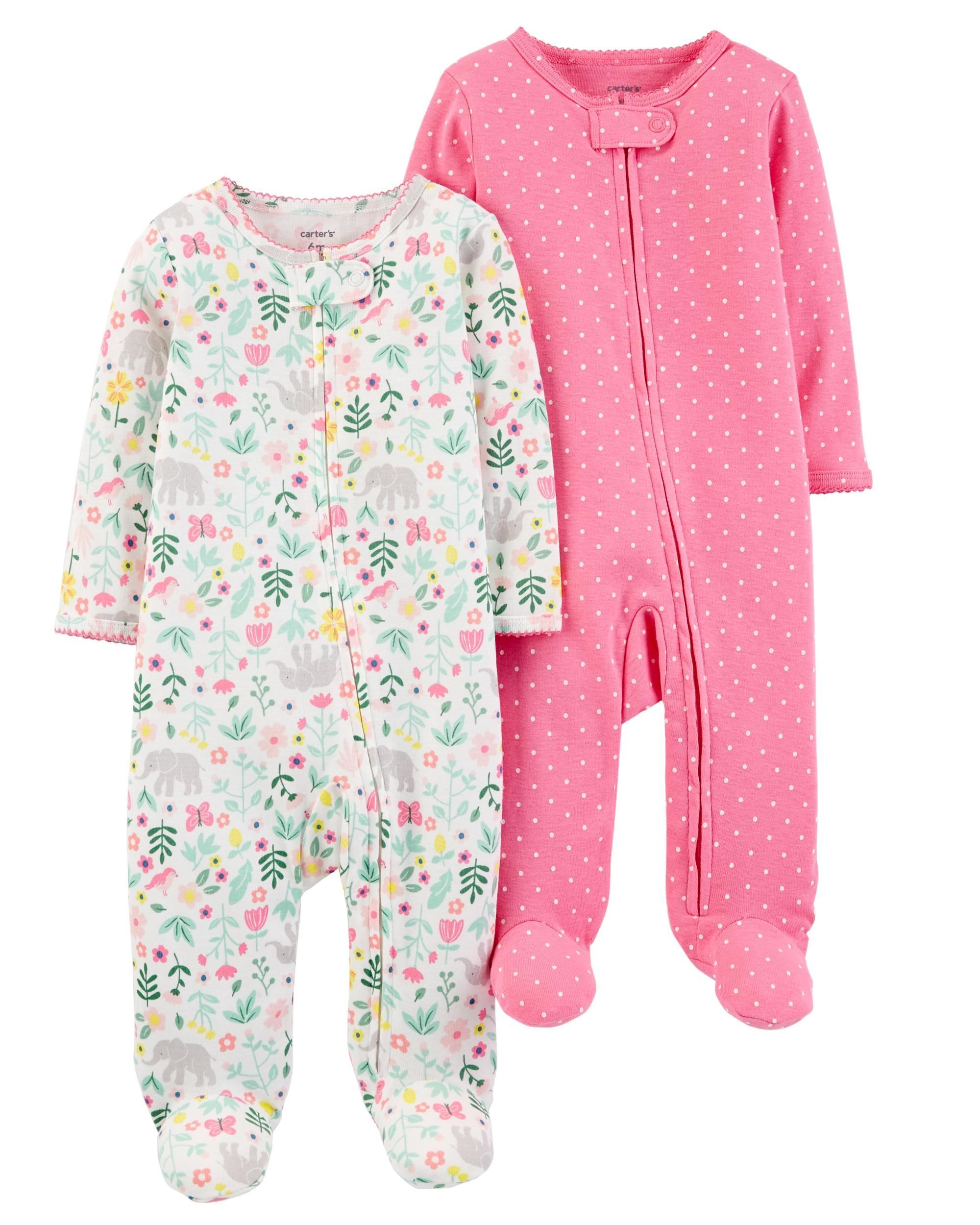 6688a4c98d9ab 2-Pack Zip-Up Cotton Sleep & Play Set | Family, Kids, Babies & Stuff ...