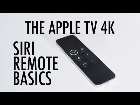 (71) SIRI REMOTE BASICS APPLE TV 4K YouTube Apple tv