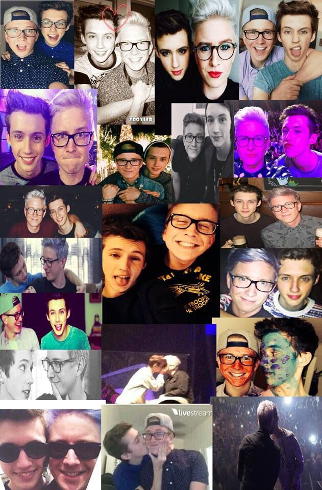 My sister made this Troyler Collage! :)