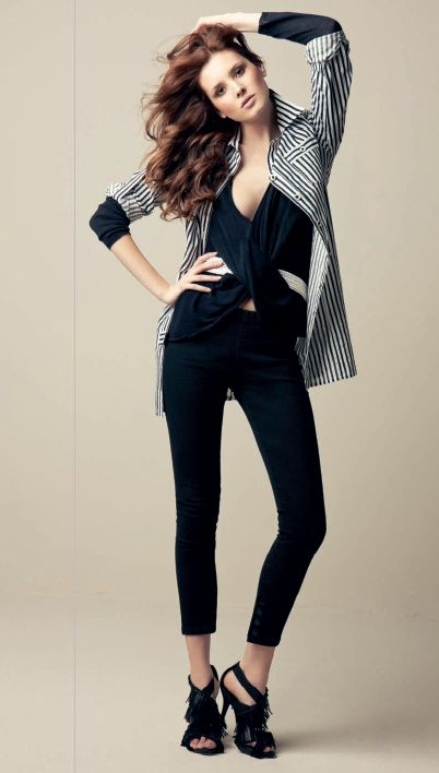 cae2d3017 Ropa de moda para mujeres. Outfit elegante pero casual  outfit  mujer  black