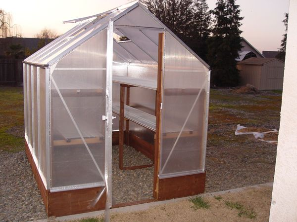 Improving Harbor Freight Greenhouse