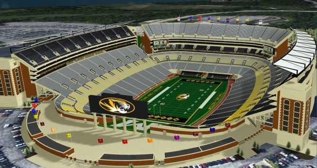 The 13 Most Expensive College Football Stadium Renovations Stack Football Stadiums Stadium College Football