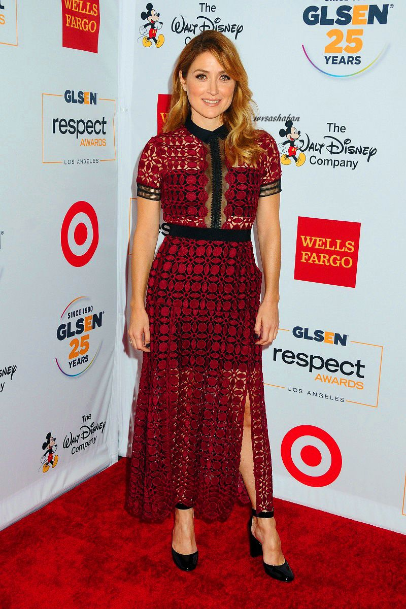 Sasha Alexander at the 2015 GLSEN Respect Awards