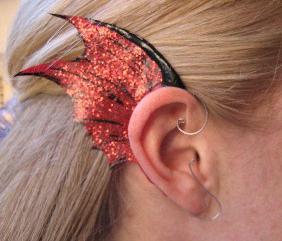 LRP LARP Mermaid Ear Latex Prosthetics for fancydress