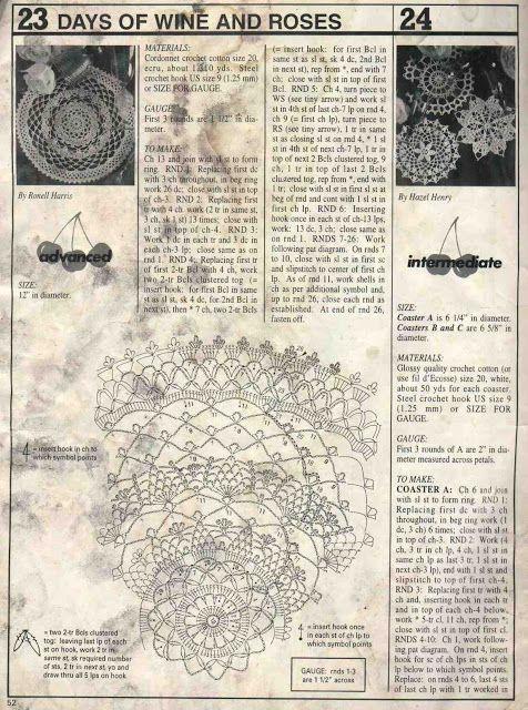 Decorative Crochet Magazines 35 - Gitte Andersen - Picasa Web Albums