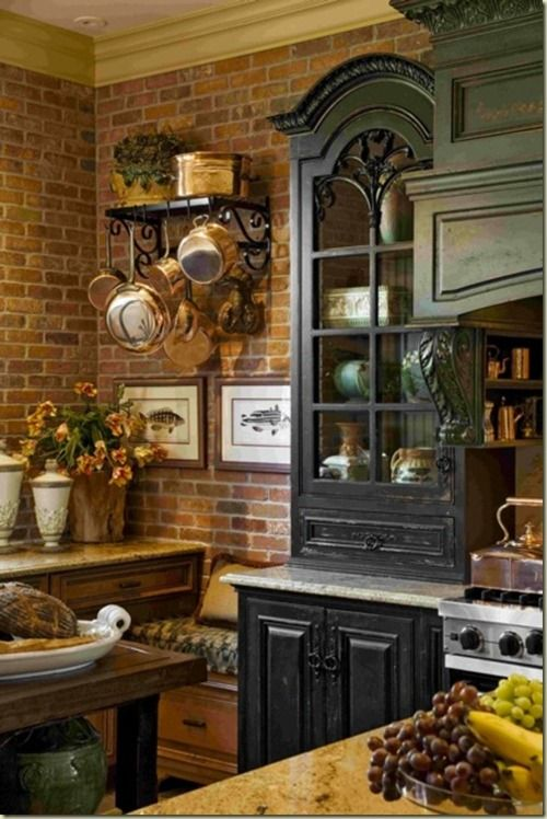 french country kitchen Agyag,kerámia Pinterest French country