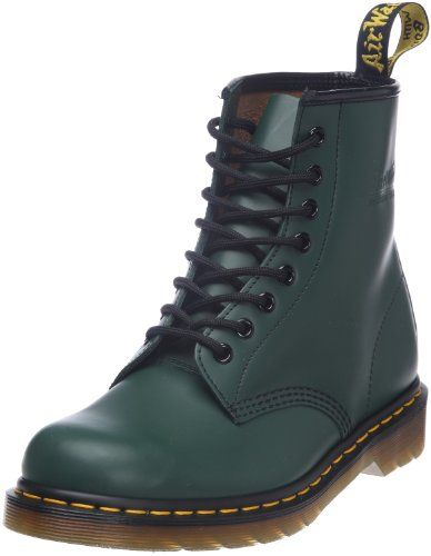 146f66f25c0919 Dr. Martens 1460 Smooth 59 Last GREEN