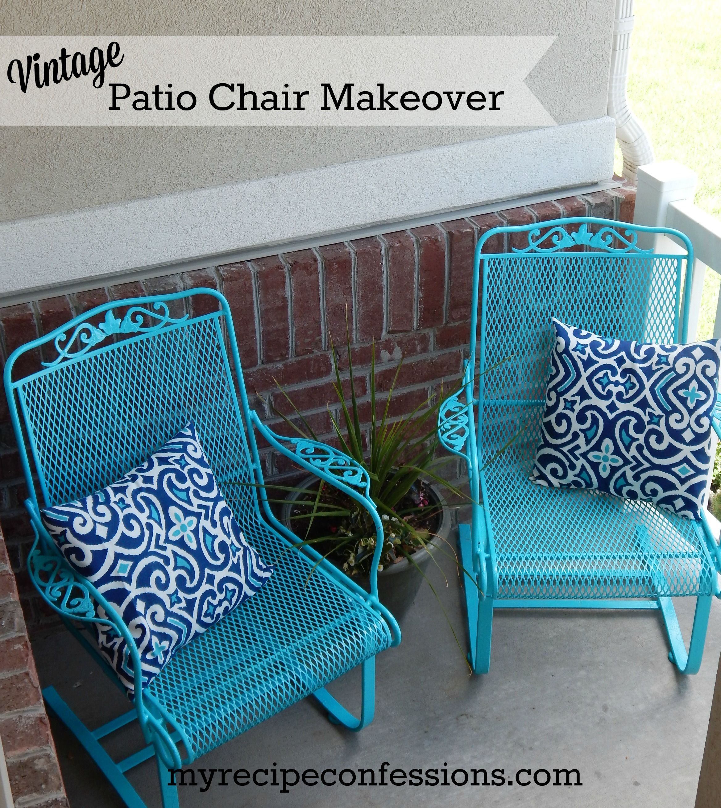 Love Wednesday Home Ideas Metal Patio Chairs