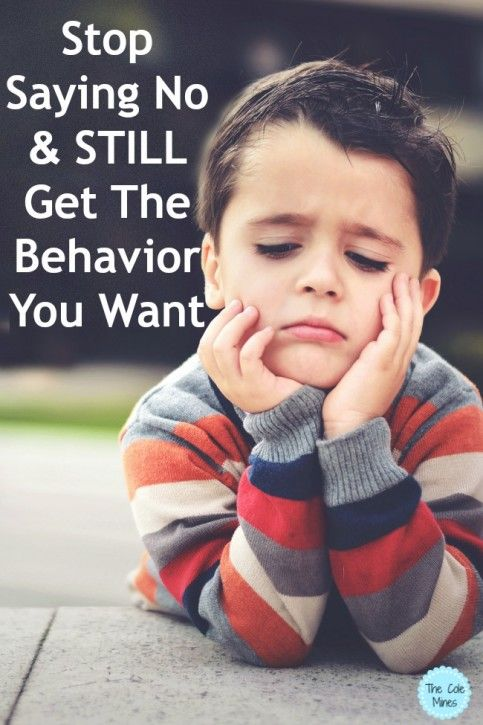 4 Alternatives To Saying No To Your Kids - The Cole Mines