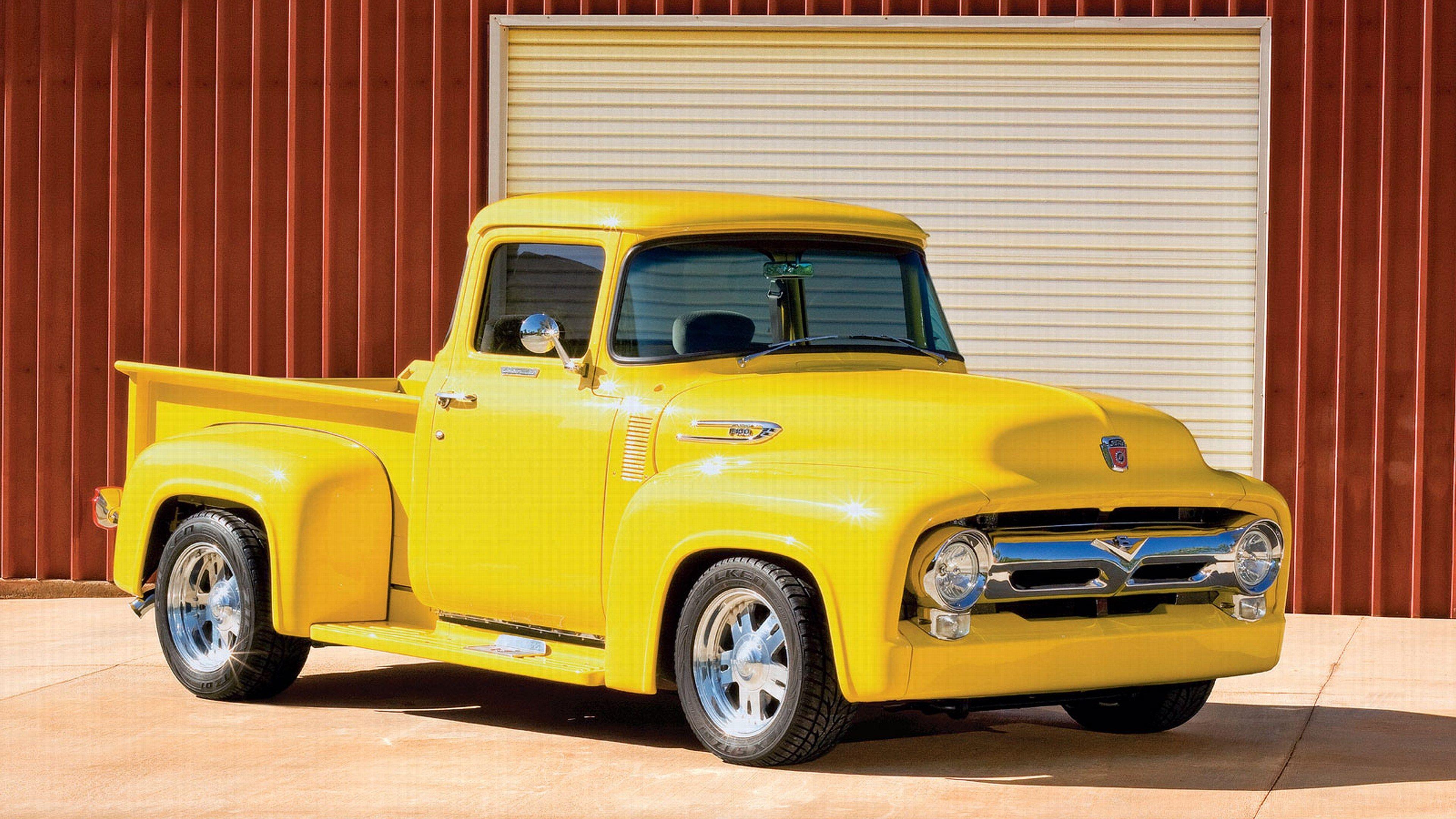 Ford 4k Wallpaper 3840x2160 John Deere 2 Trucks Classic