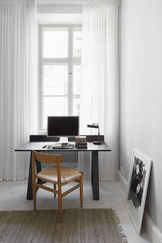 Small home office inspiration (My Paradissi) Living Space Small