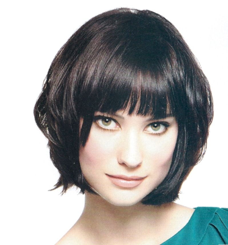 Damina Chin Length Haircut With Bangs Dark Hair Kingdom Cast