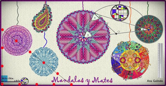 Creación De Mandalas En La Clase De Matemáticas Clase De Matemáticas Mandalas La Creacion