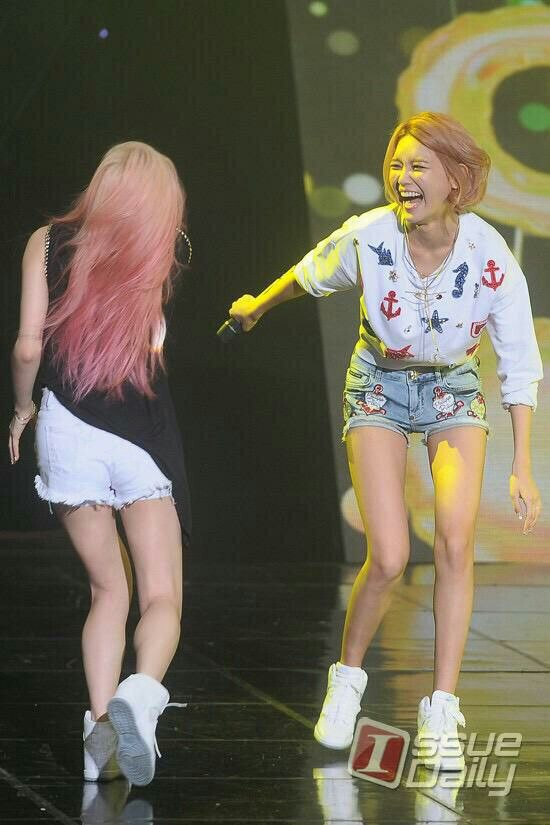 Sooyoung and Taeyeon.
