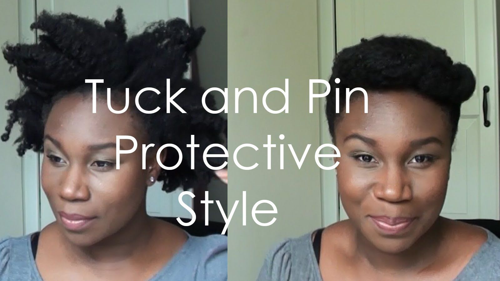 Quiff Quick And Easy Hairstyle I Like To Do Just Before My Wash Day I Think This Is Good For All 4c Natural Hair Natural Hair Styles Cute Natural Hairstyles
