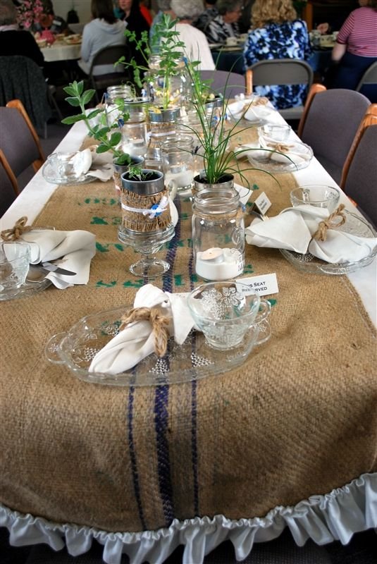Table Decorations For Las Tea Party Decorating