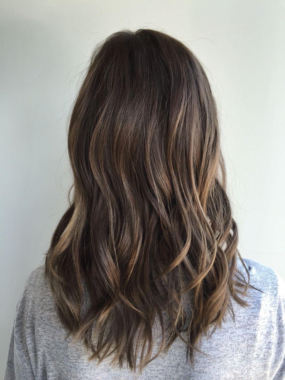 medium brown hairstyles dimensional brunette dirty