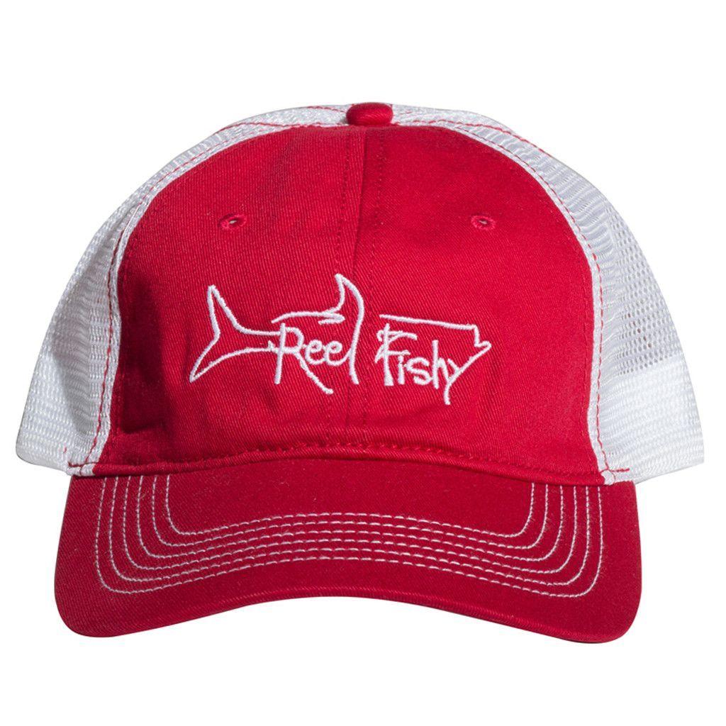 343493145147e Tarpon Fishing Structured Trucker Hats