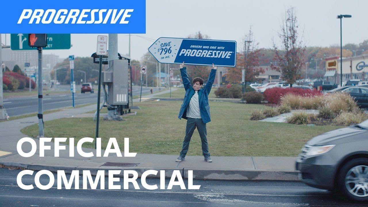 Sign Spinner: Directions | Progressive Insurance ...