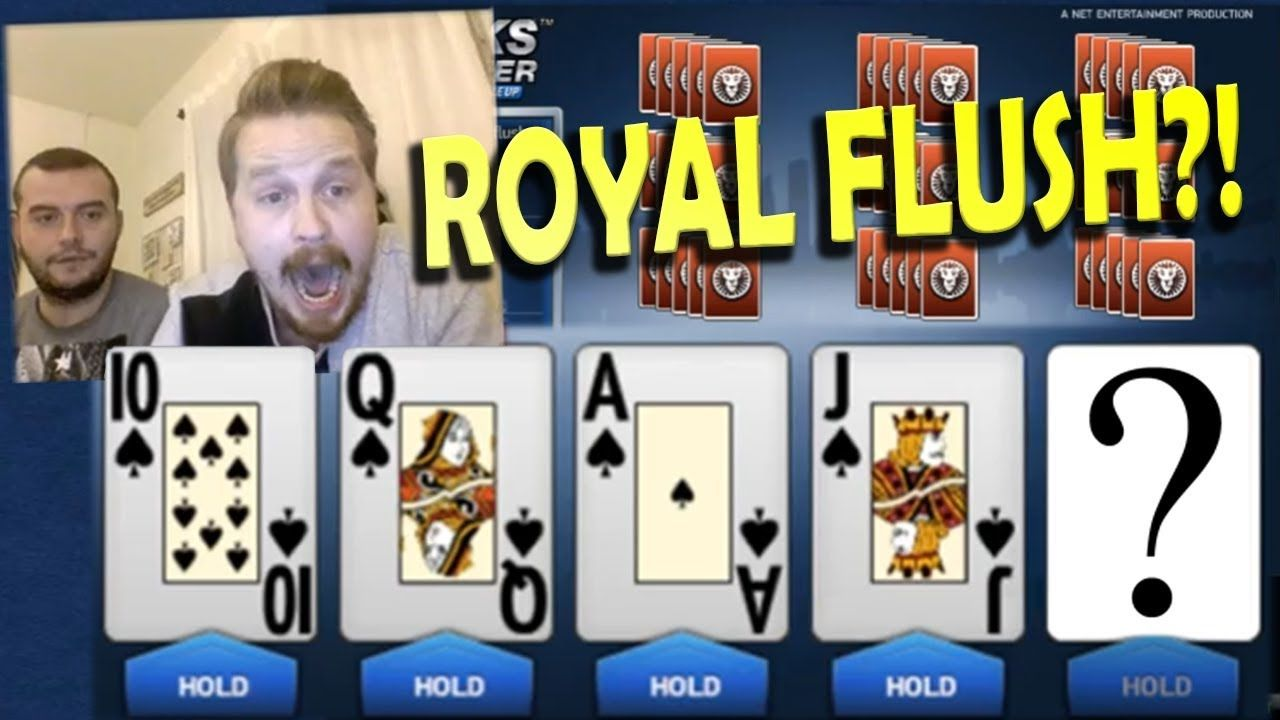 Video Poker Can We Hit The Royal Straight Flush