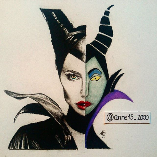 Angelina Jolie As Maleficent Vs Maleficent 2 Faced By