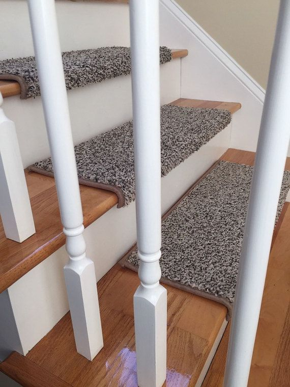 True Bull Nose Stair Tread Carpet With Built In Padding Caprice Beach Bum  Padded Step Cover By BullnoseStairTreads On Etsy