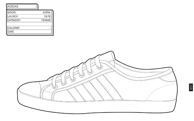 Air Jordan Sneaker Drawings