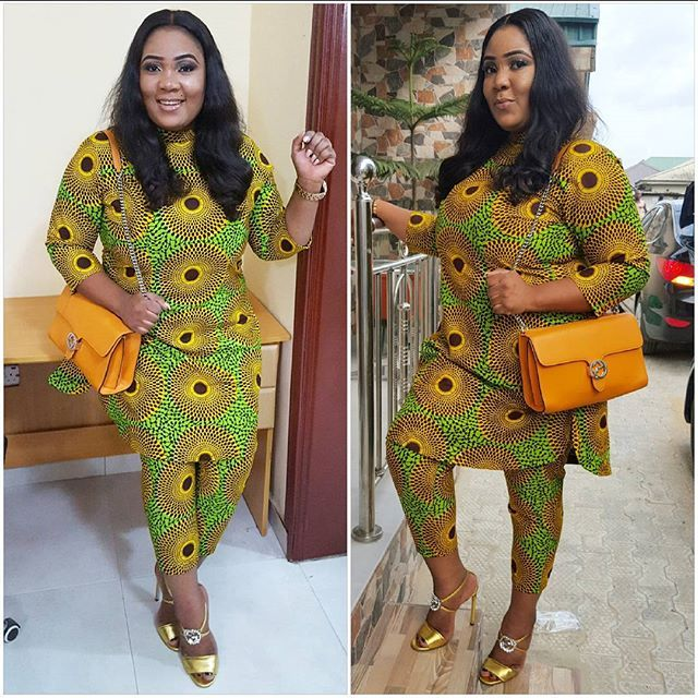 67db99ebea748b Trending Ankara Trouser And Top Styles For Ladies