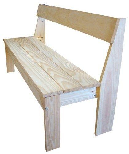 Resultado de imagen para banco de jardin con cortina de for Bancas para jardin de madera