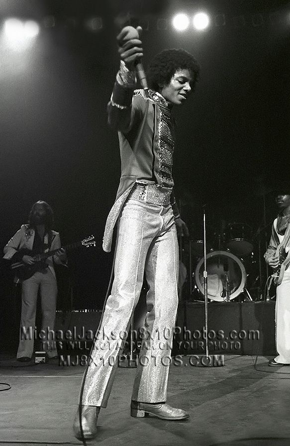 MICHAEL JACKSON 1979 DESTINY TOUR 3 RARE 8x10 PHOTOS