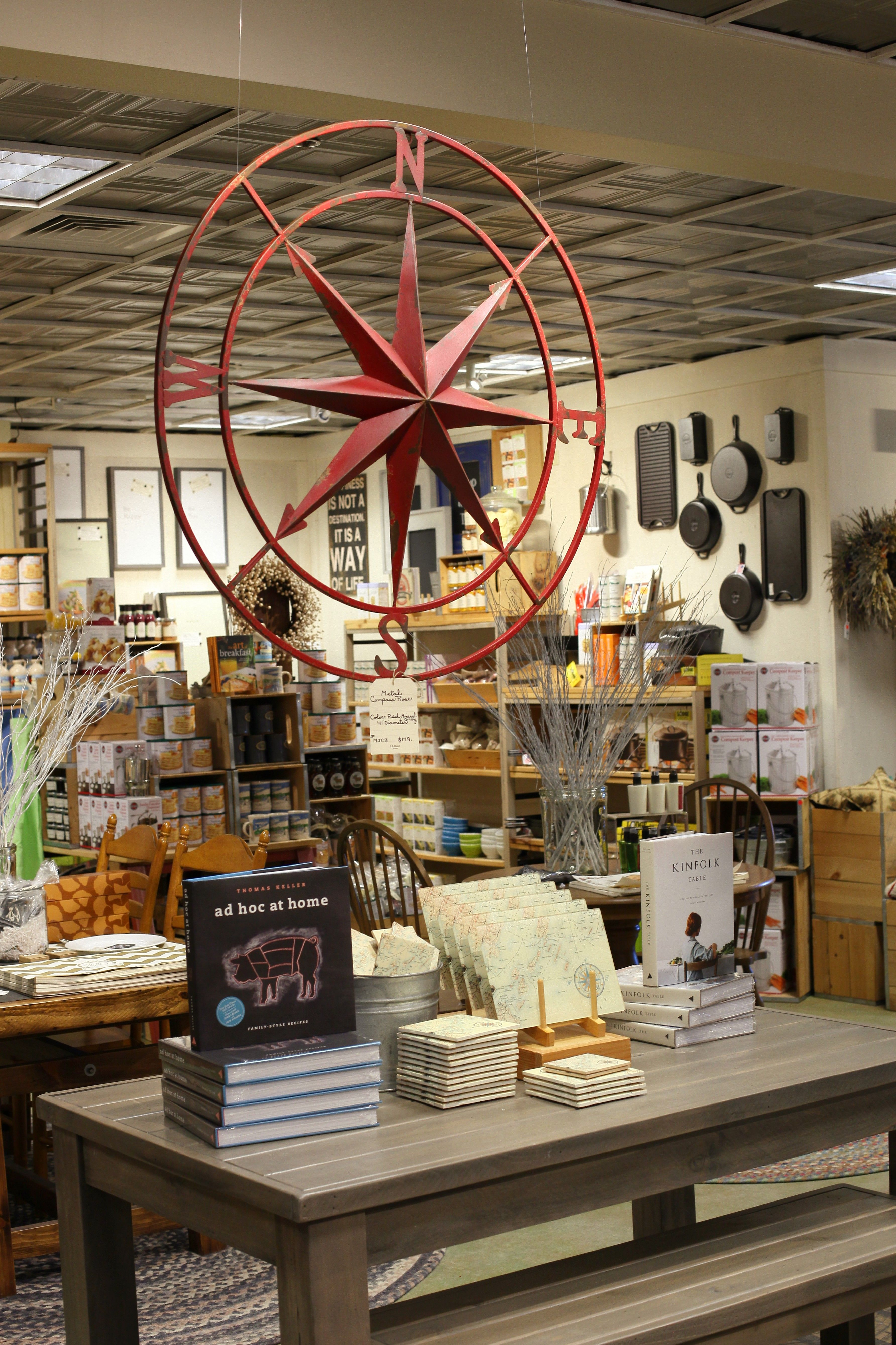 Home decor at the L.L.Bean HOME store in Freeport, Maine. Kitchen ...