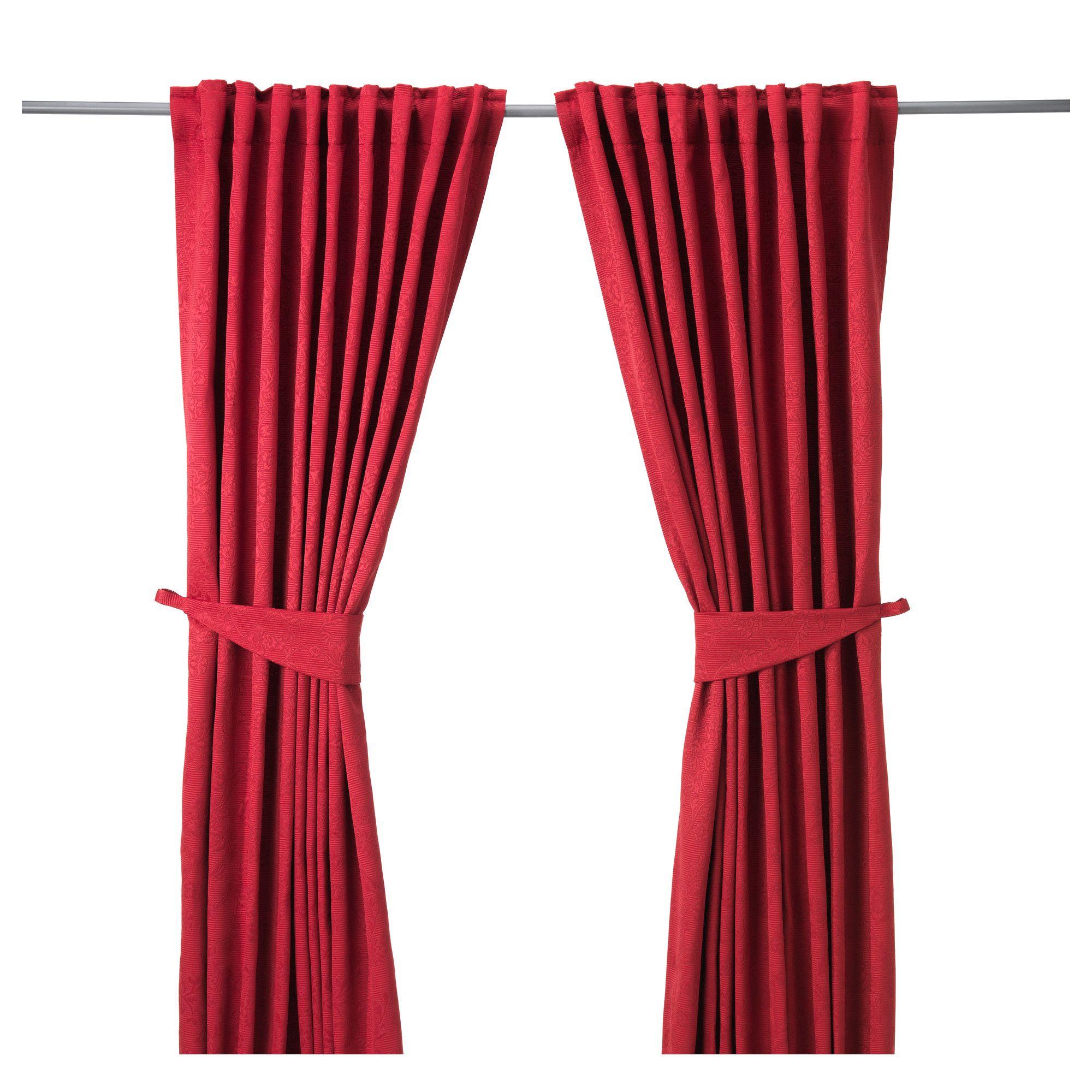 BLEKVIVA Tenda con bracciale, 2 teli - IKEA | colori sala ...