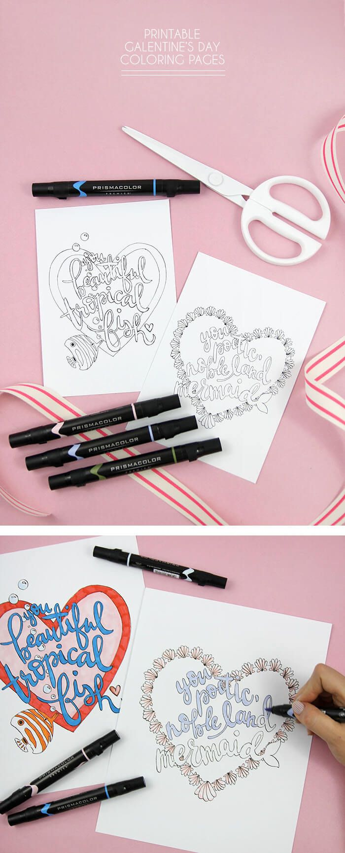 Printable Galentine\'s Day Coloring Pages | Leslie knope quotes ...