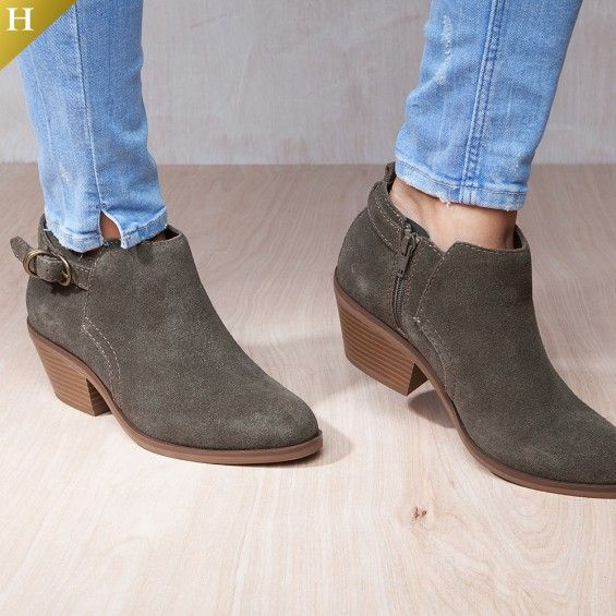 b30ecd9e7985 White Mountain Heritage Collection. Chic ankle boots for the new season  arrive in the form of the genuine suede Sadie bootie from White Mountain.