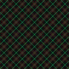 Christmas new year Tartan Pattern Scottish cage
