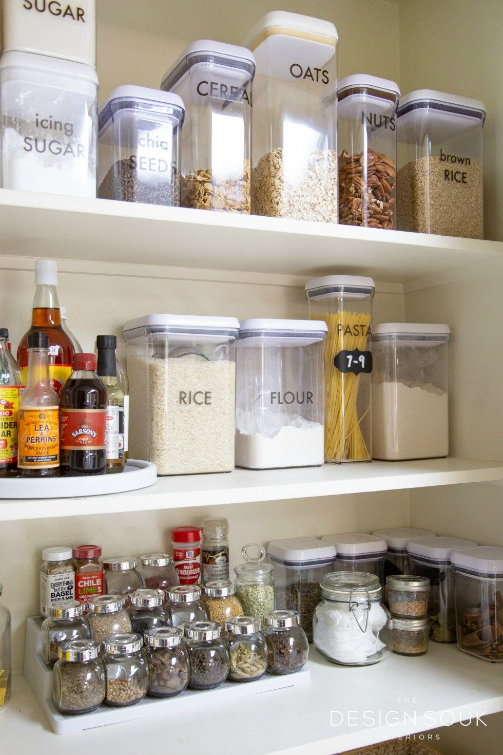 How I Organized My Pantry And My Favorite Storage Tools Pantry Organization Containers Glass Storage Containers Storage