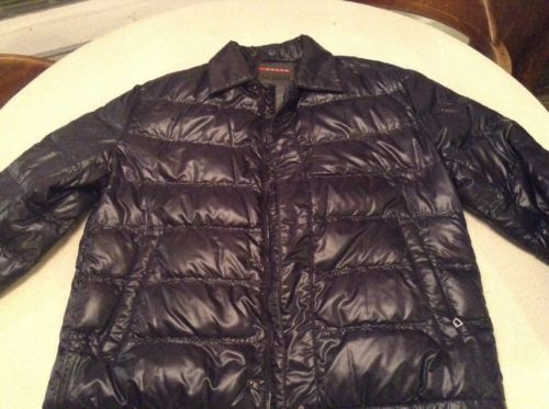 Men's Prada Puffer Jacket Dark Charcoal Blue New W/out Tags Size L https://t.co/2KPRmMscGE https://t.co/TyeGnJuhdJ