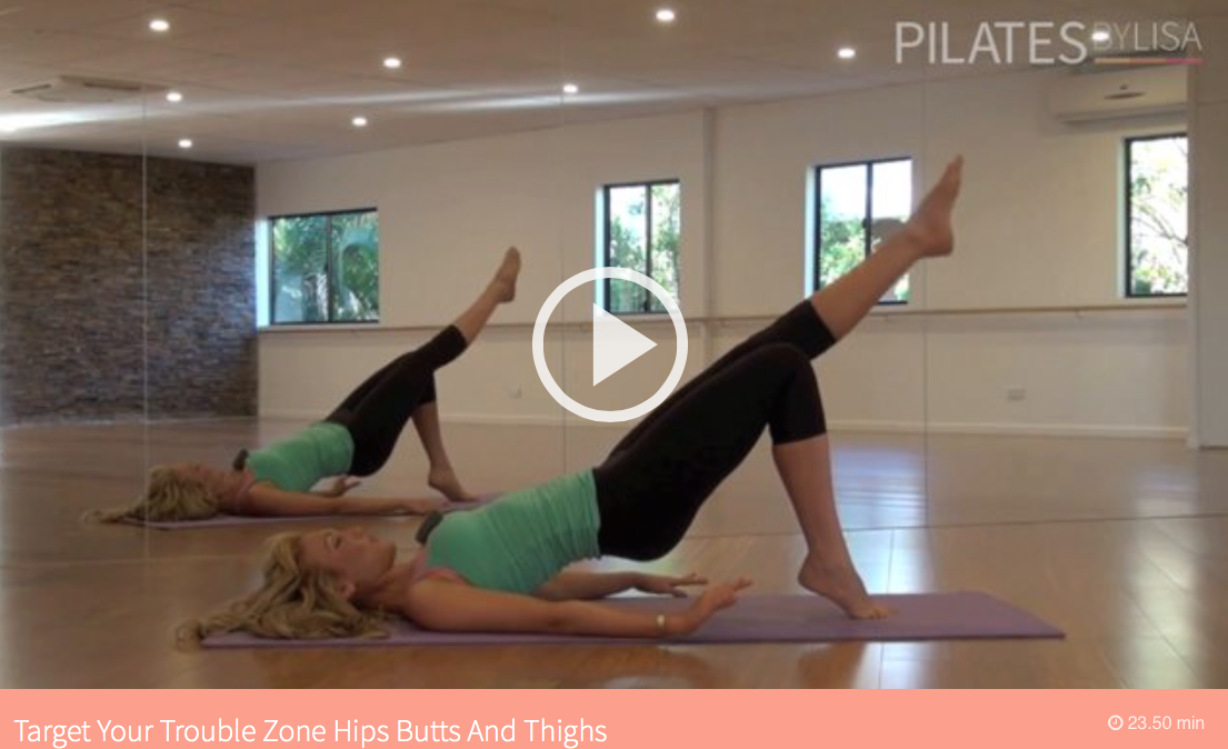 Pilates by Lisa 7 day workout plan, 7 day workout