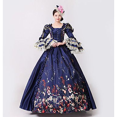 a53bf0f99d57 Steampunk®Marie Antoinette Masquerade Victorian Queen Ball Gown Wedding  Dress Reenactment Rococo Ball Gown