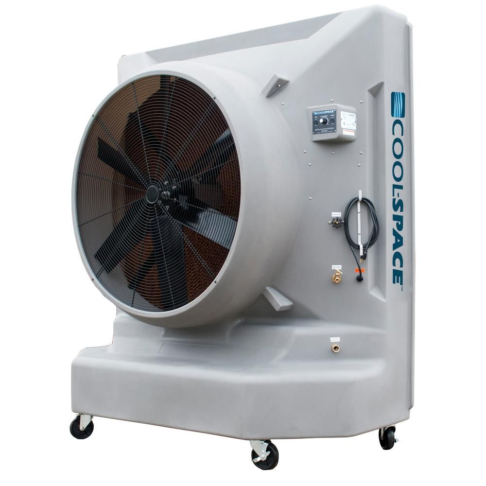 Cool Space Blizzard 50 24000cfm 12 Speed Portable Evaporative