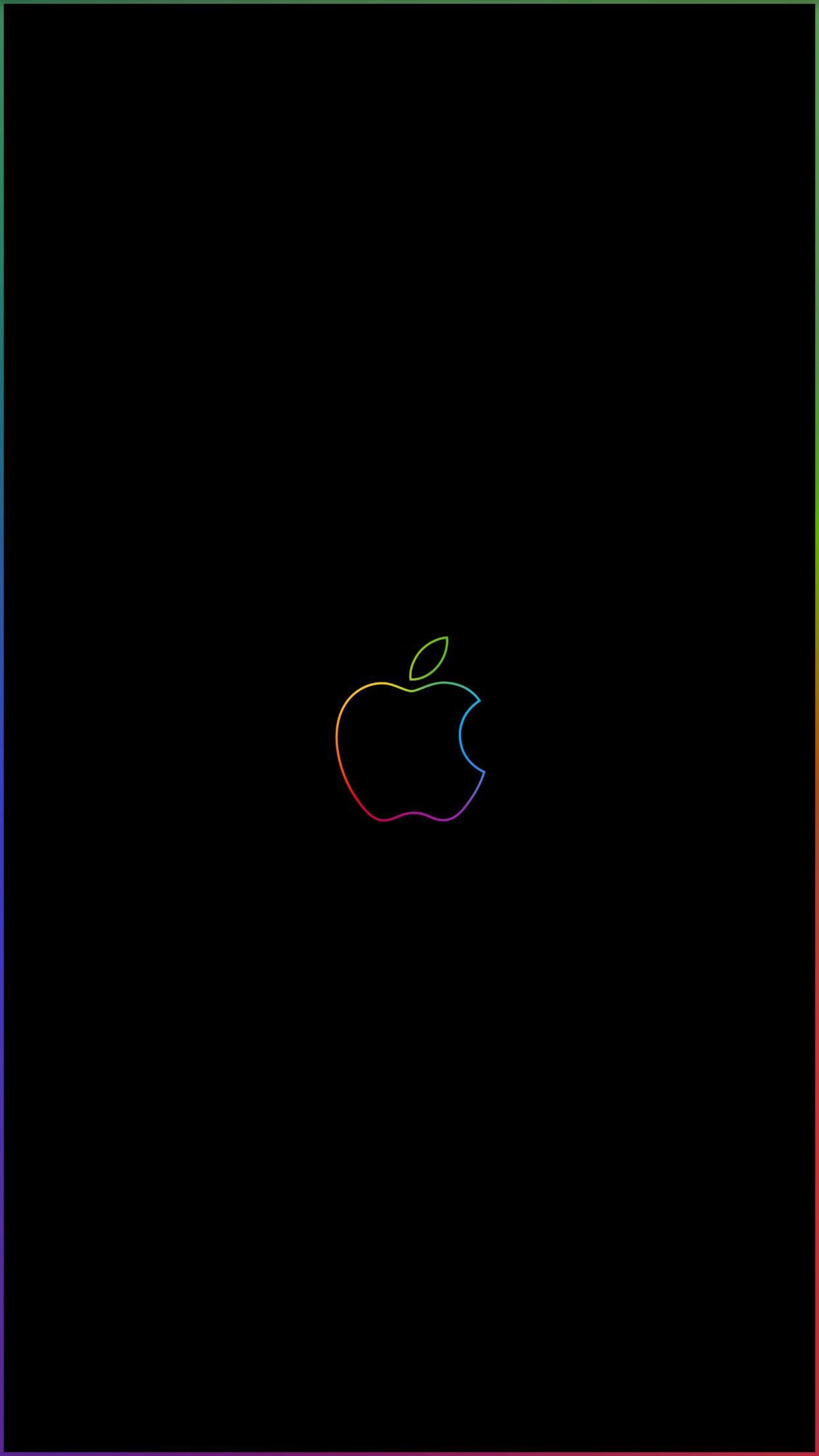 Rainbow Border Wallpaper : rainbow, border, wallpaper, Rainbow, Border, &, Apple, Logohttps://i.redd.it/2obugiy1c5w11.png, Logo,, Wallpaper, Iphone,