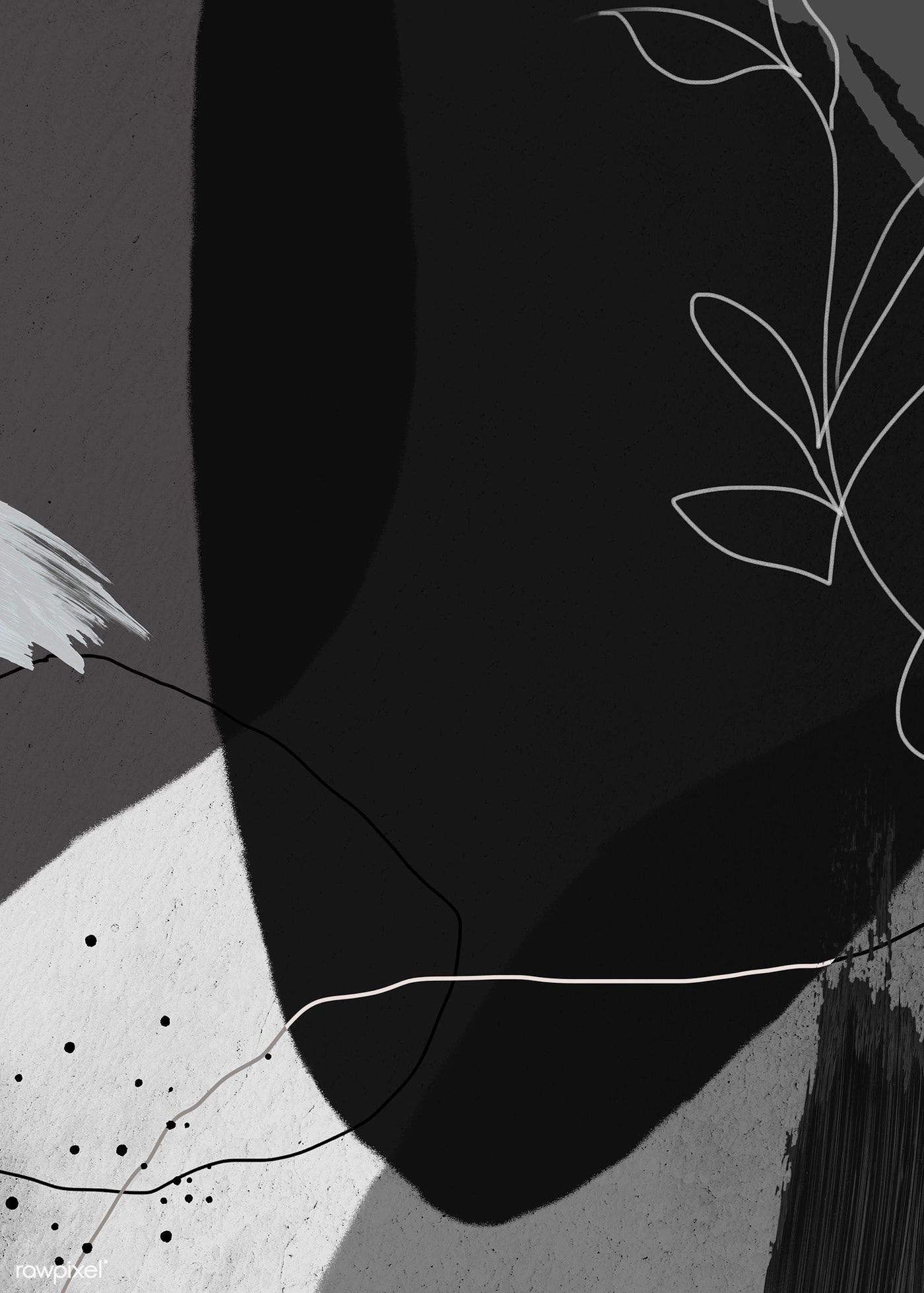 Download premium illustration of Abstract dark tone