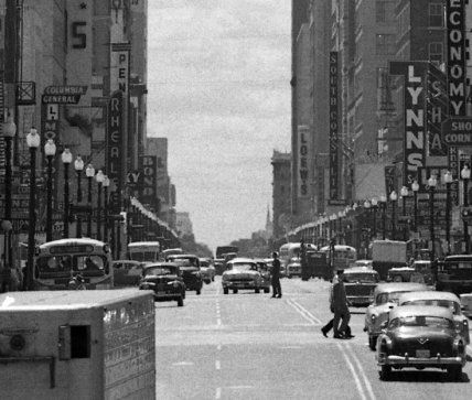 Looking Down Main Street Aka The Best Houston History Photo You Ll See This Week Houston History History Photos Photo