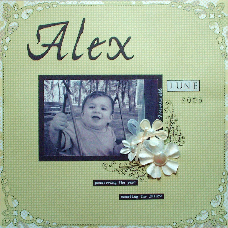 Alex - Scrapbook.com
