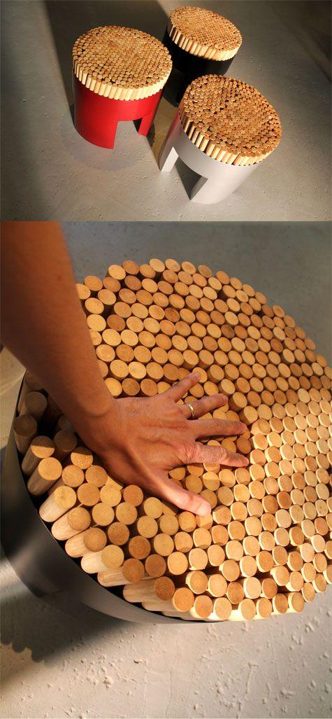 Kenneth Cobonpue S Chiquita Stools Love Em Modern Patio Furniture Interior Design Furniture Organic Interiors