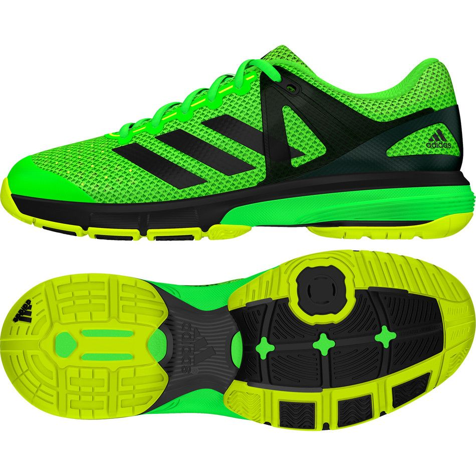 9f3b8e41c Adidas Court Stabil 13 Men's Indoor Court Shoes Green | Squash Shoes ...