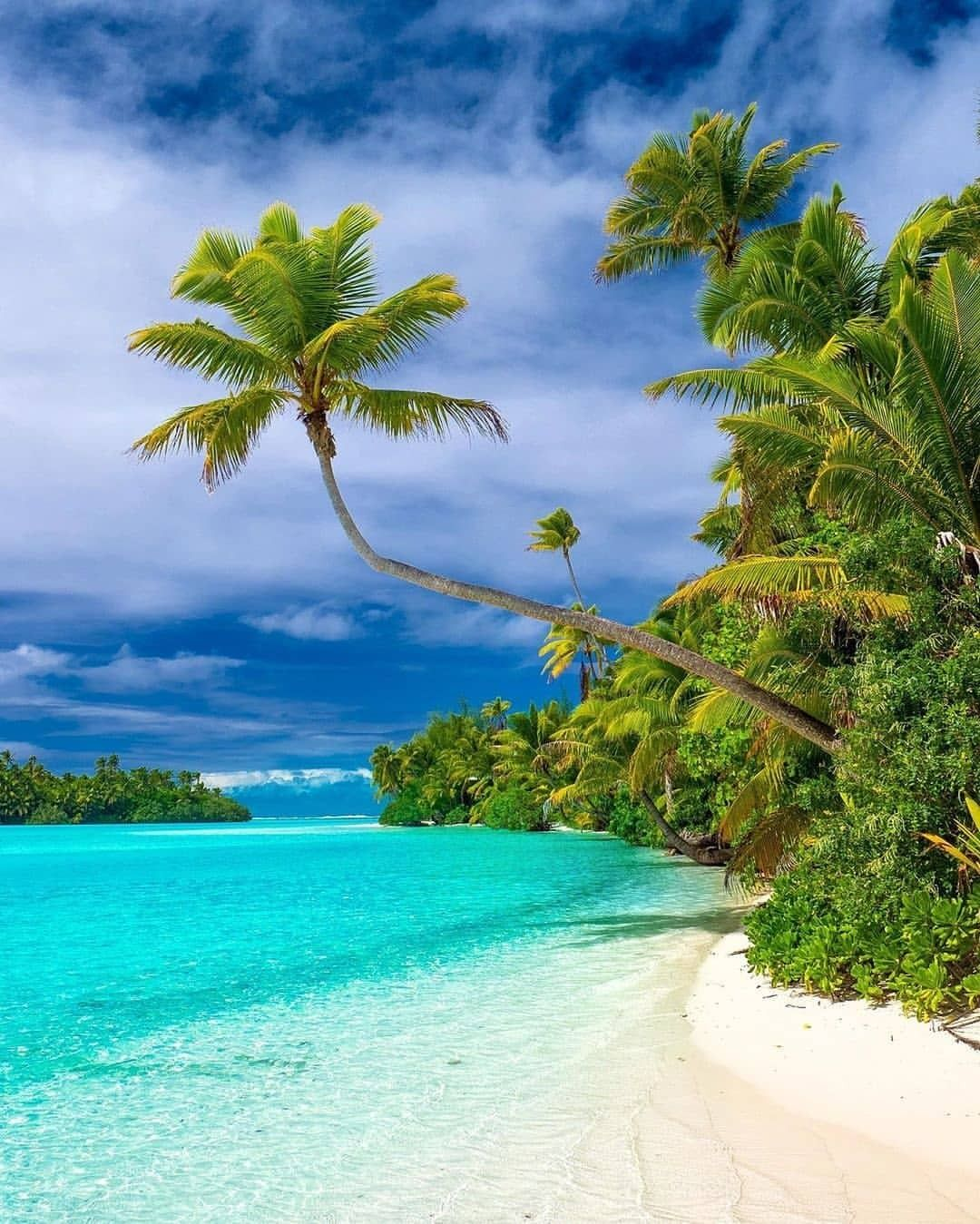 Cook Islands Rarotonga Beach: Aitutaki, Cook Islands, New Zealand