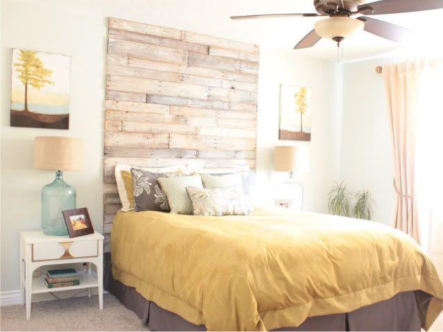 Gorgeous beachy bedroom!