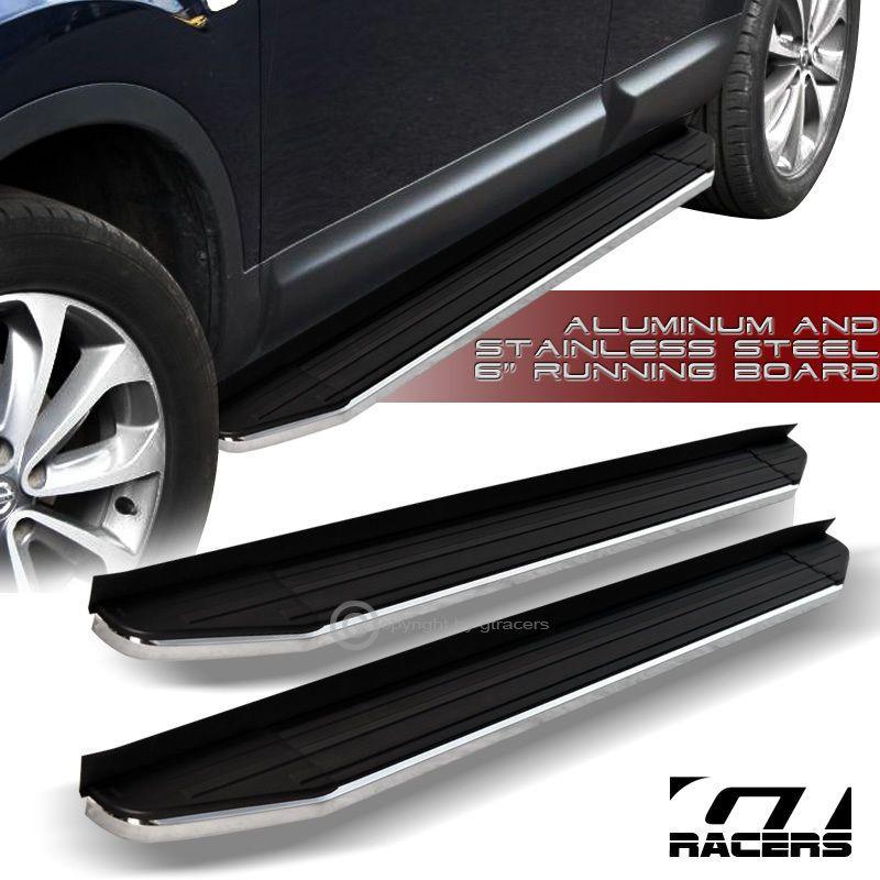 2008 2009 Journey6 Hd Aluminum Black W Chrome Trim Side Step Running Board Vp Step Railing Chevy Running