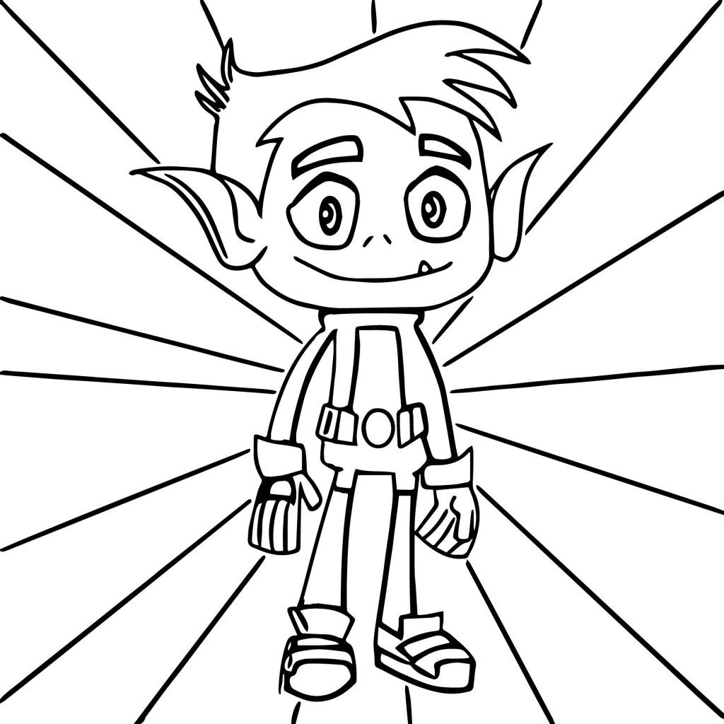 Teen Titans Coloring Pages | Teen titans